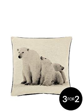 arctic-bears-cushion-43x43cms
