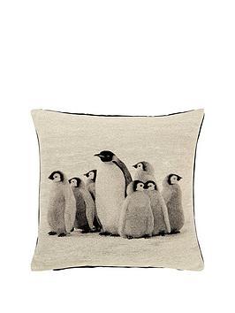 winter-penguins-cushion