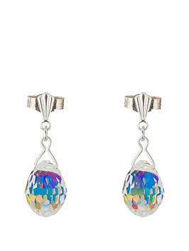 love-silver-sterling-silver-crystal-ab-disco-ball-drop-earring