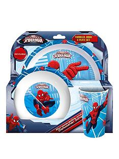 spiderman-dining-amp-cutlery-set