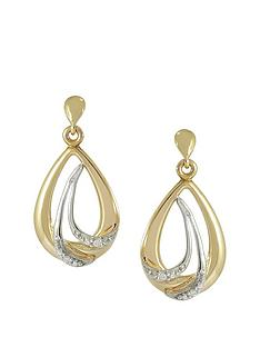 love-gold-9ct-gold-cubic-zirconia-earrings-with-white-rhodium-highlightsrsquo