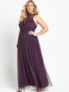 little-mistress-curve-high-neck-sleeveless-maxi-dress-berry