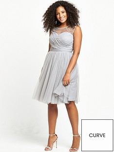 little-mistress-curve-sheer-midi-dress-grey