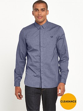 fred-perry-concealed-placket-long-sleeve-shirt