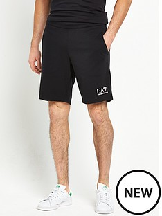 emporio-armani-ea7-small-logo-sweat-shorts
