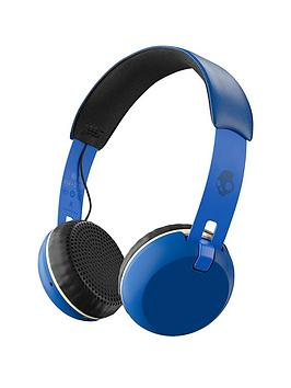 skullcandy-grind-wirelessbluetooth-on-earnbspheadphonesnbsp--royal-creamblue