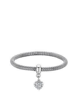 buckley-london-rhodium-plated-mesh-heart-bracelet-christmas-bauble