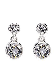 karen-millen-karen-millen-silver-crystal-dot-drop-earring-made-with-swarovski-elements