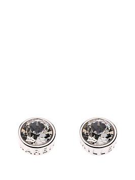 karen-millen-karen-millen-silver-logo-stud-earrings-made-with-swarovski-elements