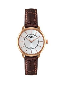 rotary-rotary-elise-white-dial-leather-strap-ladies-watch