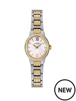 rotary-rotary-olivie-white-dial-two-tone-stainless-steel-bracelet-ladies-watch