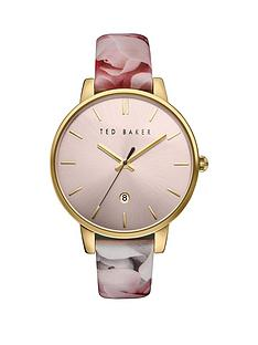 ted-baker-ted-baker-pink-dial-floral-patent-leather-strap-ladies-watch