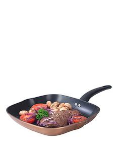 salter-copper-effect-28cm-griddle-pan