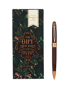 ted-baker-walnut-brown-pen
