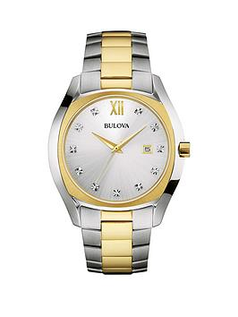 bulova-bulova-black-dial-stainless-steel-bracelet-ladies-watch