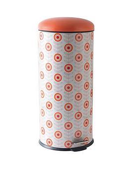 salter-30-litre-retro-daisy-pedal-bin