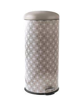 salter-30-litre-lattice-pedal-bin