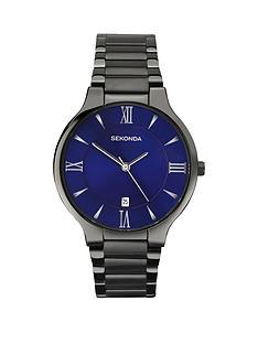 sekonda-blue-dial-gun-metal-tone-bracelet-mens-watch