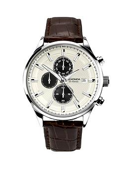 sekonda-white-multifunction-dial-brown-leather-strap-mens-watch