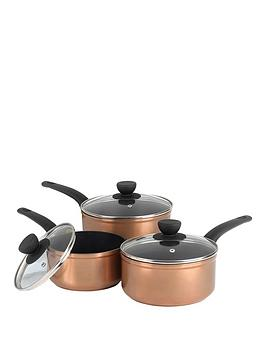 salter-copper-effect-3-piece-pan-set