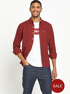 levis-sunset-pocket-checked-shirt