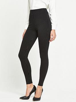 river-island-river-island-pinstripe-high-rise-leggings