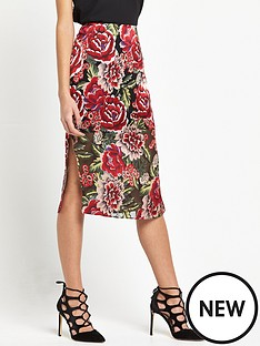 river-island-floral-pencil-skirt