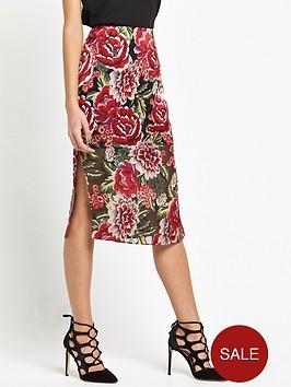 river-island-floral-pencil-skirt