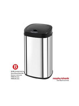 morphy-richards-morphy-richards-chroma-42l-square-stainless-steel-sensor-bin