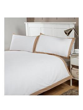 silentnight-300-thread-count-egyptian-cotton-contrast-trim-duvet-set-double