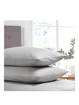 silentnight-easy-care-180-thread-count-cotton-rich-pillowcase-pair-silver