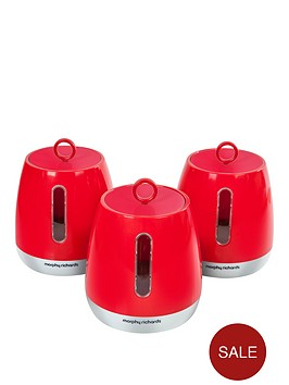 morphy-richards-morphy-richards-chroma-set-of-3-cannisters-poppy