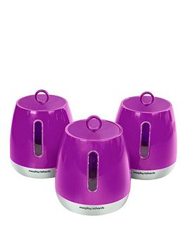 morphy-richards-morphy-richards-chroma-set-of-3-cannisters-orchid