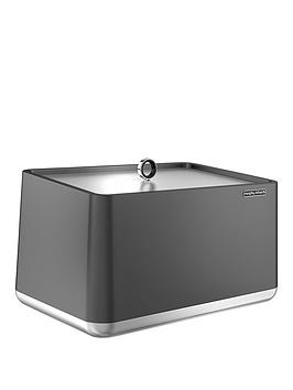 morphy-richards-aspect-bread-bin-titanium