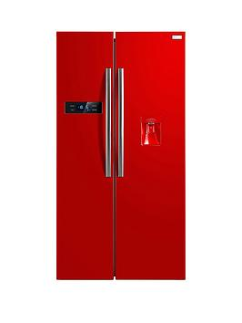 russell-hobbs-rh90ff176r-wd-176cm-high-90cm-wide-american-style-fridge-freezer-with-water-dispenser