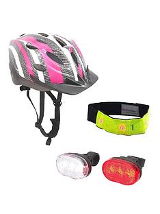 sport-direct-ladies-bicycle-winter-led-set