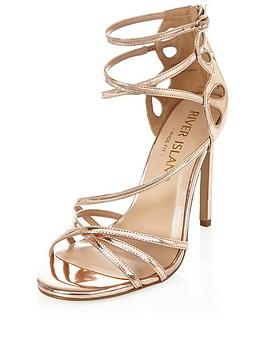 river-island-wide-fit-cross-strap-sandal