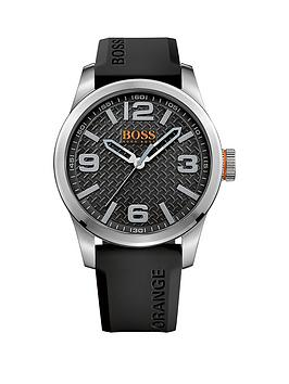 hugo-boss-hugo-boss-paris-black-dial-black-silicone-strap-mens-watch