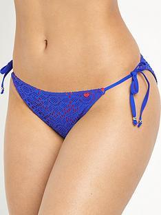 lepel-summer-days-tie-side-bikini-pant-bluered