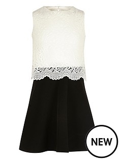 river-island-girls-black-and-white-lace-layered-dress