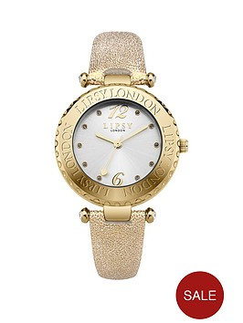lipsy-silver-tone-dial-gold-pu-strap-ladies-watch