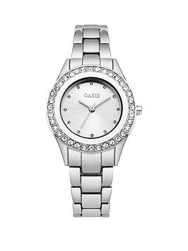 oasis-white-sunray-dial-stone-set-bezel-ladies-watch