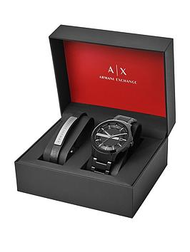 armani-exchange-black-dial-black-stainless-steel-watch-amp-bracelet-mens-gift-set