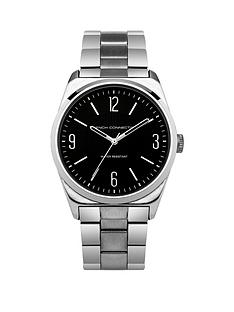 french-connection-french-connection-black-dial-silver-tone-bracelet-gents-watch