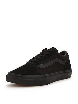9cee0a8c016049 Vans Old Skool Childrens Trainer - Black