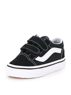 2839604547 Vans Old Skool Infant Trainer - Black