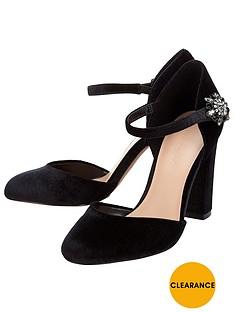 phase-eight-clara-velvet-block-heel
