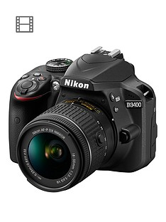 nikon-d3400-dslr-camera-with-af-p-18-55mm-vr-lens-save-pound50-with-voucher-code-lwpmv