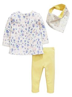 ladybird-baby-girls-floral-tunic-bib-and-leggings-set