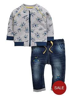 ladybird-baby-boys-robot-bomber-jacket-and-jeans-set